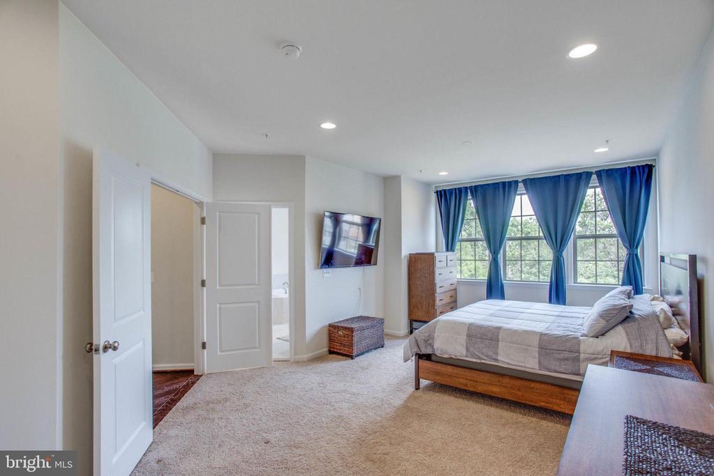 Open and Light Filled Master Bedroom - 23384 NANTUCKET FOG TER, BRAMBLETON