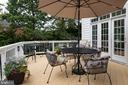 Inviting deck - 9185 MAROVELLI FOREST DR, LORTON