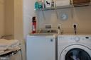 Laundry on bedroom level - 9185 MAROVELLI FOREST DR, LORTON
