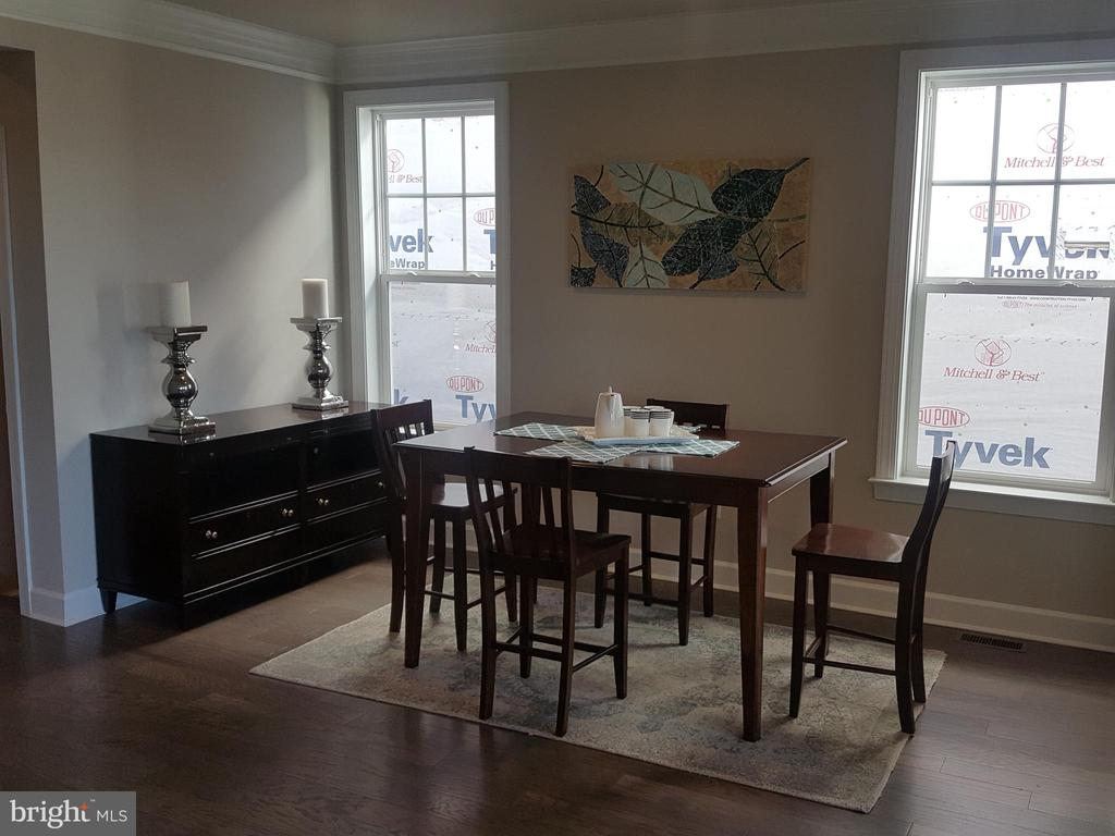 Model Home Dining Room - 305 CENTRAL AVE, GAITHERSBURG