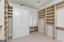 Walk-in Closet - 6470 KEDLESTON CT, MCLEAN
