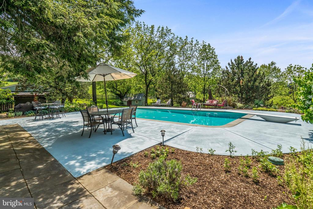 In-ground Swimming Pool - 13452 HARPERS FERRY RD, HILLSBORO