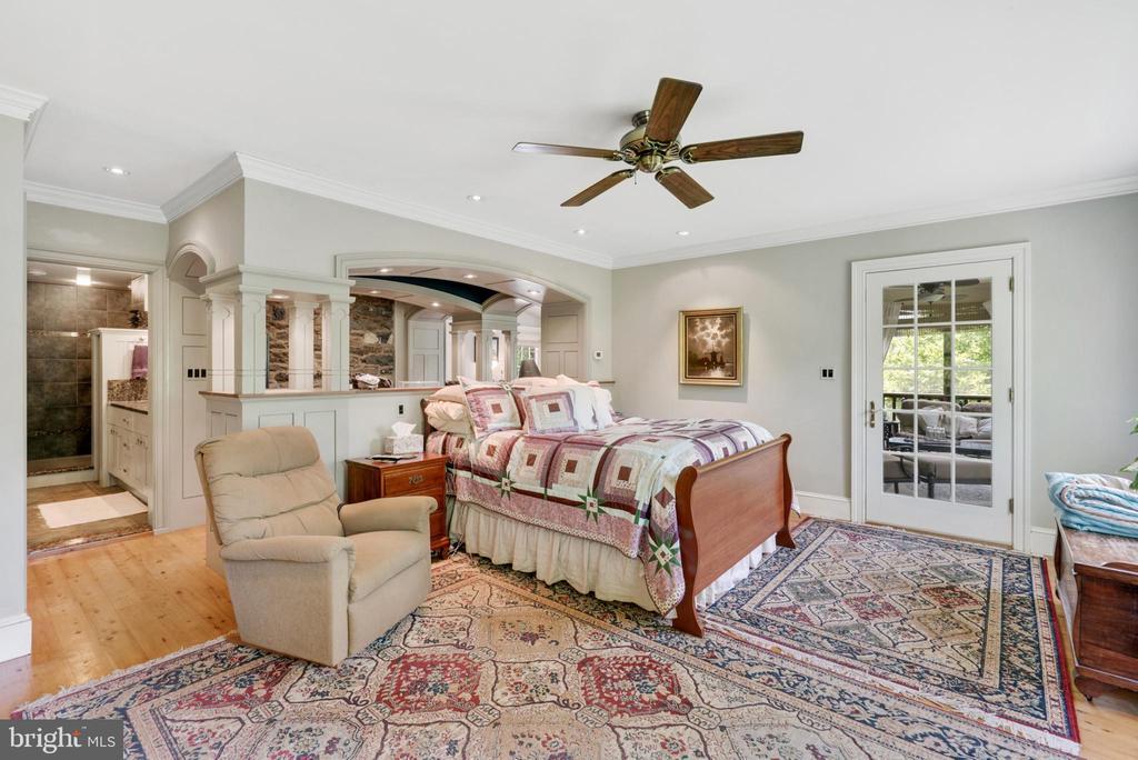 Main Level Master Bedroom - 13452 HARPERS FERRY RD, HILLSBORO