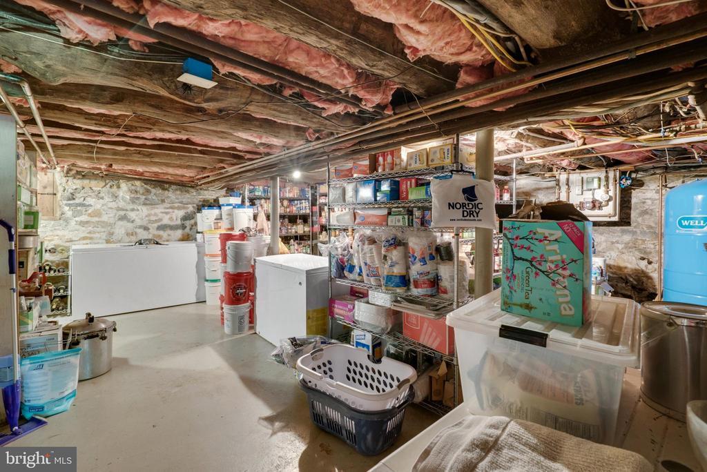 Lower Level Storage & Utility Room - 13452 HARPERS FERRY RD, HILLSBORO