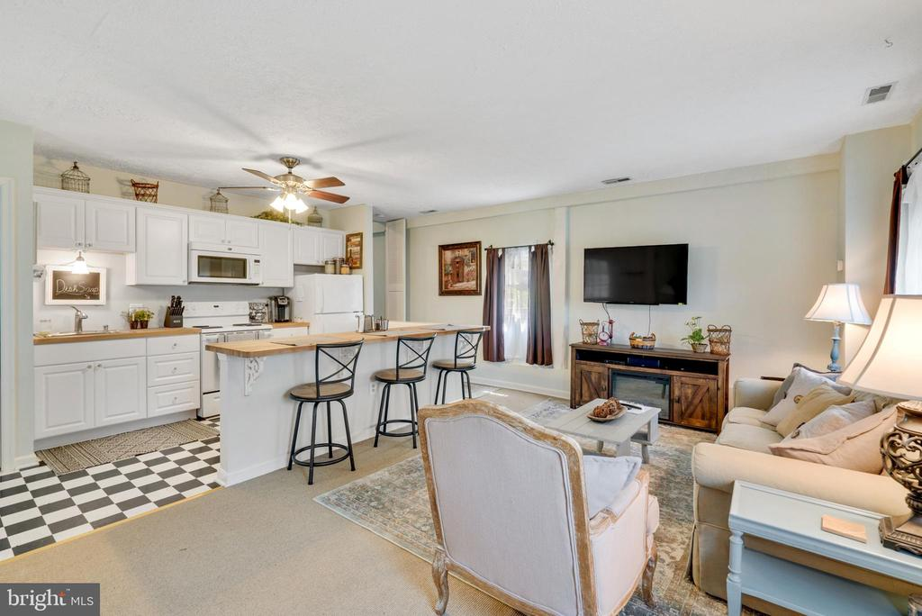 Cottage - Kitchen & Living Space - 13452 HARPERS FERRY RD, HILLSBORO