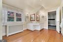 Upper Level Master Bedroom - Double Vanity - 13452 HARPERS FERRY RD, HILLSBORO