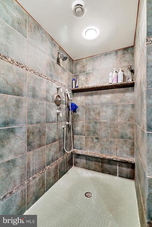 Main Level Master Bathroom - 13452 HARPERS FERRY RD, HILLSBORO
