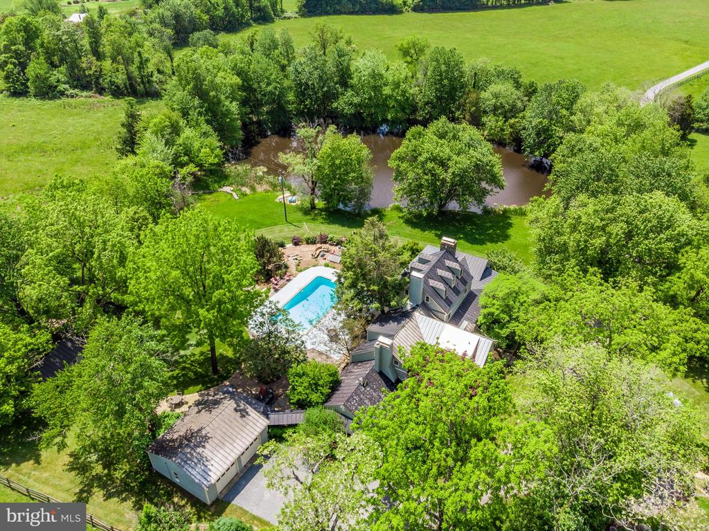 Aerial View - 13452 HARPERS FERRY RD, HILLSBORO