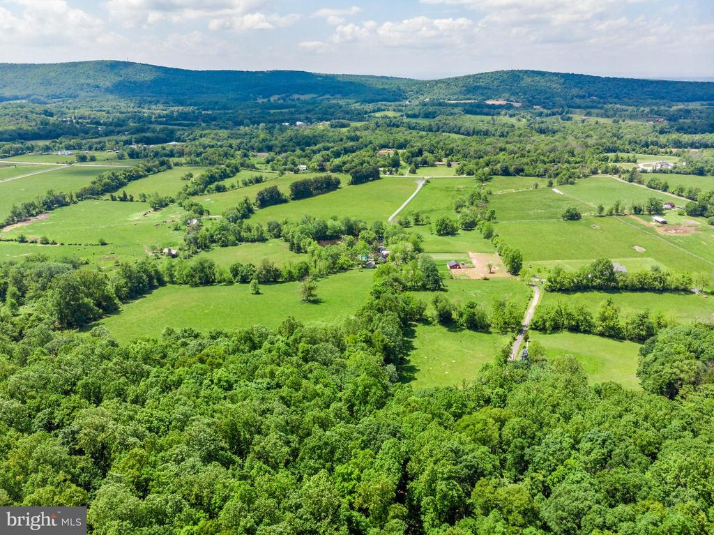 Aerial View - 66 Acres - 13452 Harpers Ferry Rd - 13452 HARPERS FERRY RD, HILLSBORO