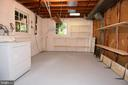 Laundry room with additional storage - 5024 PORTSMOUTH RD, FAIRFAX