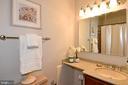 Hallway full bathroom with shower/tub - 5024 PORTSMOUTH RD, FAIRFAX
