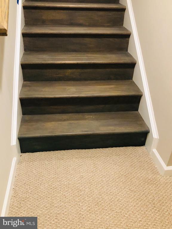 Wood steps up and down! - 17985 WOODS VIEW DR, DUMFRIES