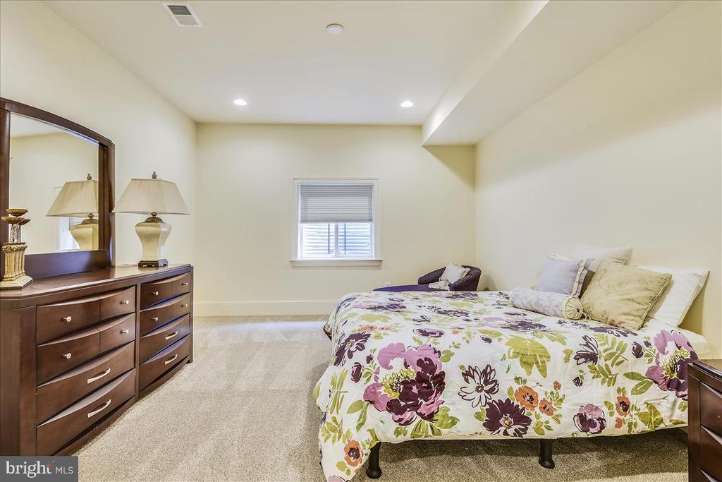 Lower Level second Bedroom with Full Bath - 12056 OPEN RUN RD, ELLICOTT CITY