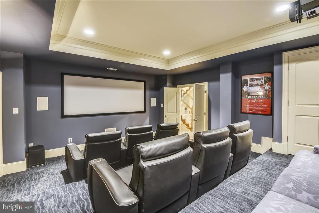 Great space for enjoying NFL, NHL, NBA or Golf - 12056 OPEN RUN RD, ELLICOTT CITY