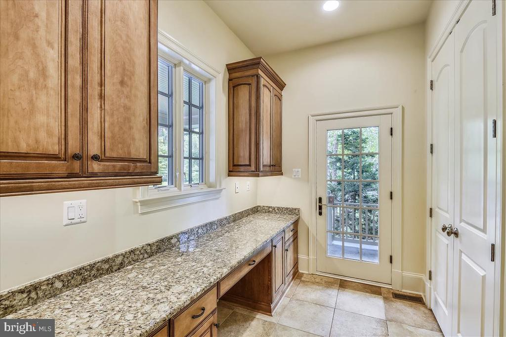 Kitchen pantry with outside access - 12056 OPEN RUN RD, ELLICOTT CITY