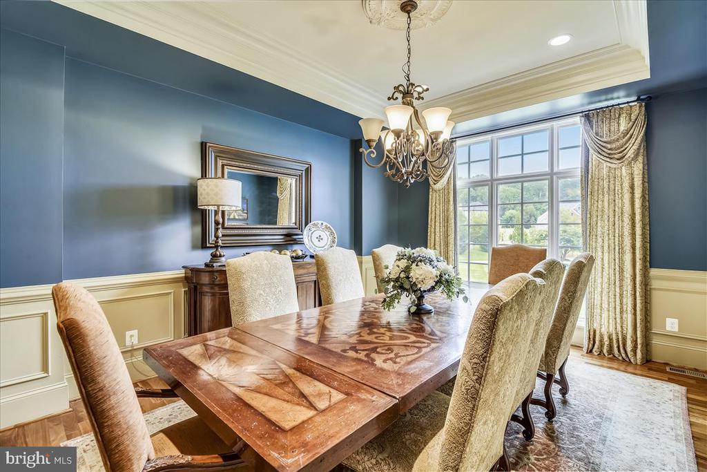 Formal Dining Room overlooks the front yard - 12056 OPEN RUN RD, ELLICOTT CITY