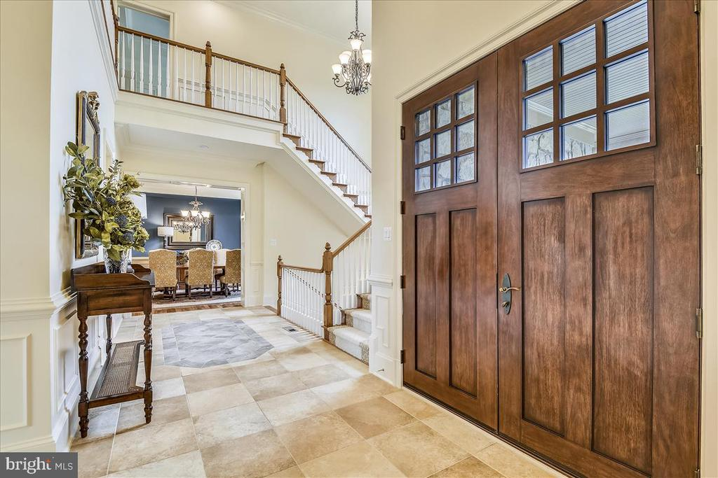 Lovely entrance to your home - 12056 OPEN RUN RD, ELLICOTT CITY