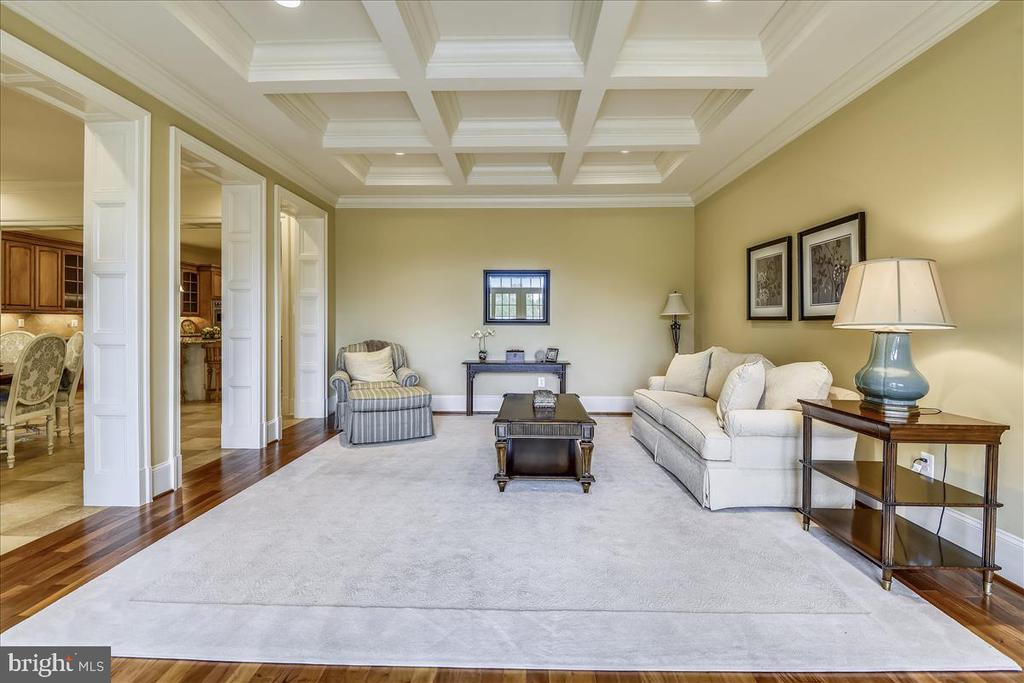 Incredible coffered ceiling - 12056 OPEN RUN RD, ELLICOTT CITY