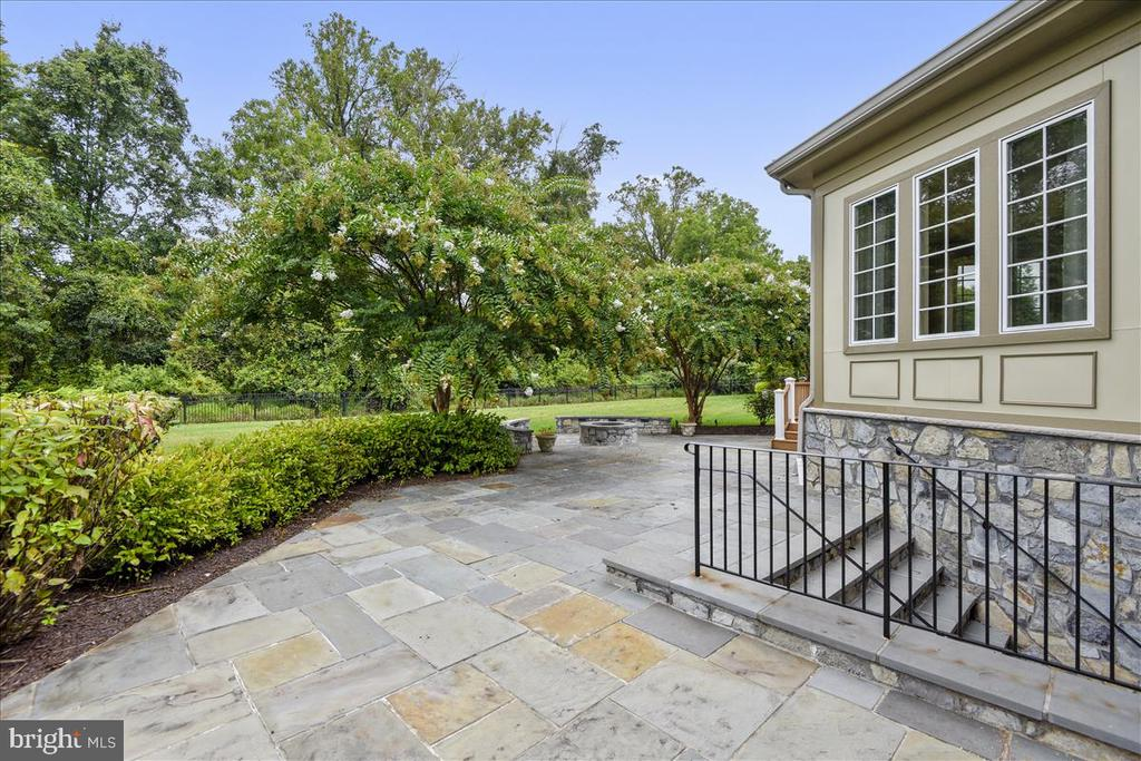 Patio with access to Lower Level - 12056 OPEN RUN RD, ELLICOTT CITY