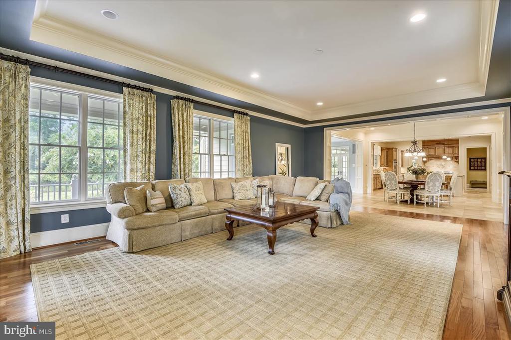 Spacious Main floor family room - 12056 OPEN RUN RD, ELLICOTT CITY