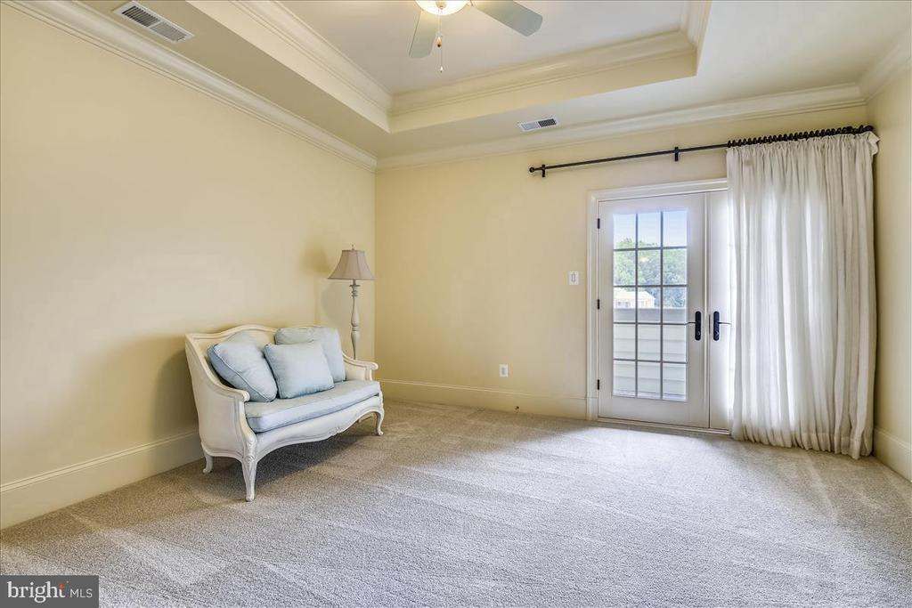 Fourth Bedroom with charming balcony - 12056 OPEN RUN RD, ELLICOTT CITY