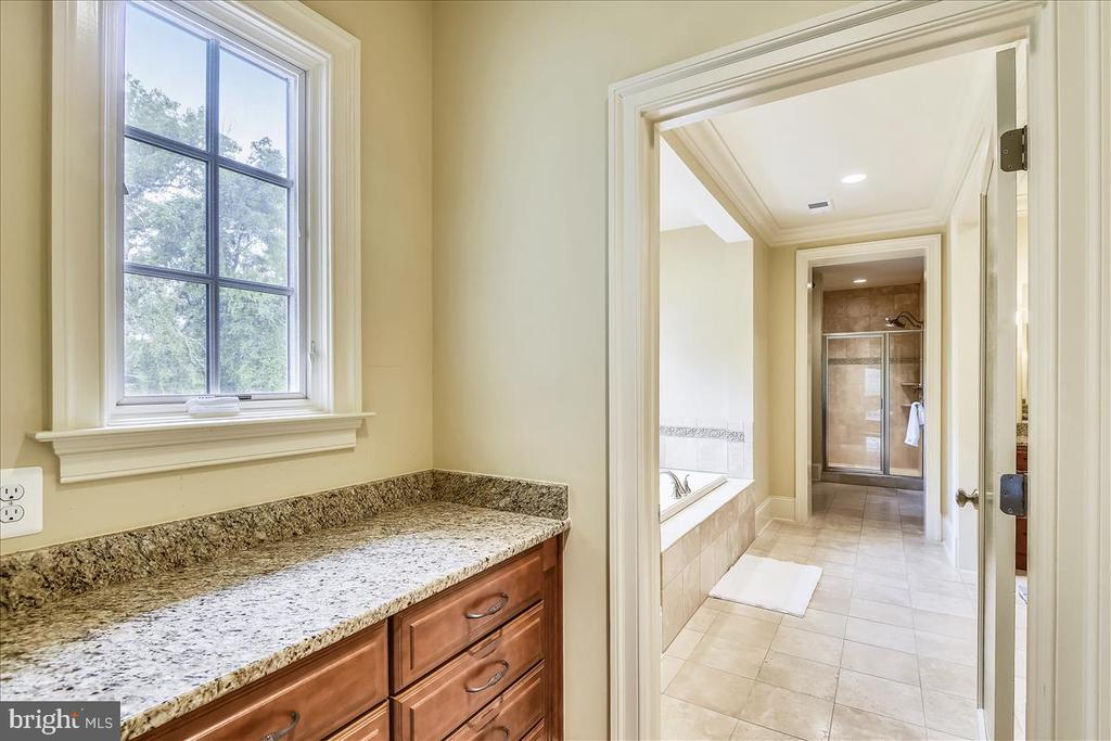 View into the Master Bathroom - 12056 OPEN RUN RD, ELLICOTT CITY
