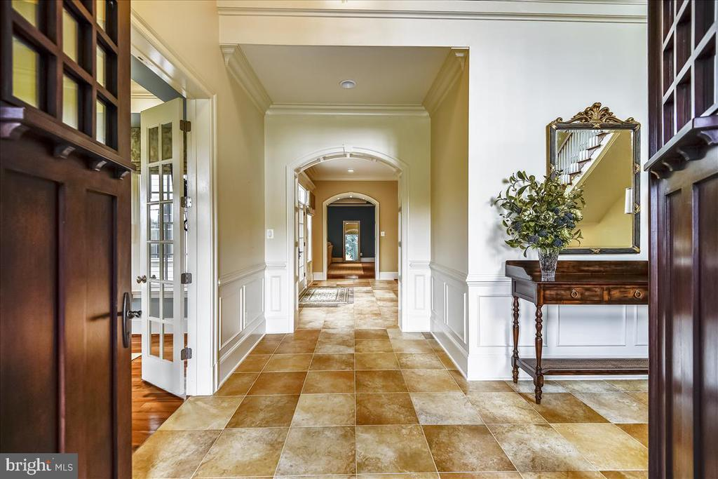 Exquisitely dramatic foyer.  Welcome Home! - 12056 OPEN RUN RD, ELLICOTT CITY