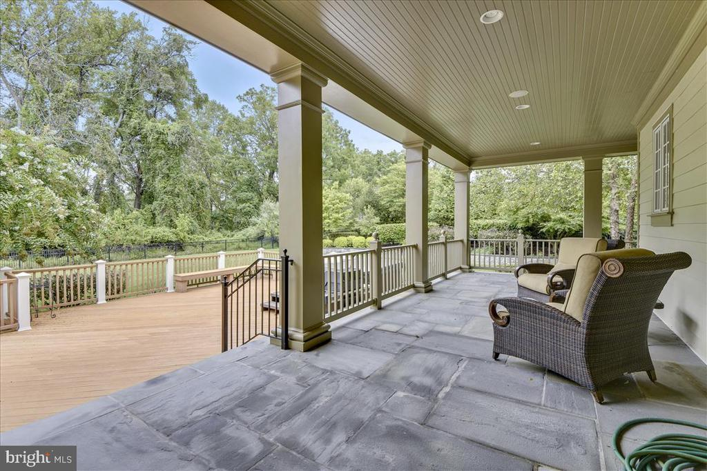 Inviting patio for enjoying leisurely times - 12056 OPEN RUN RD, ELLICOTT CITY