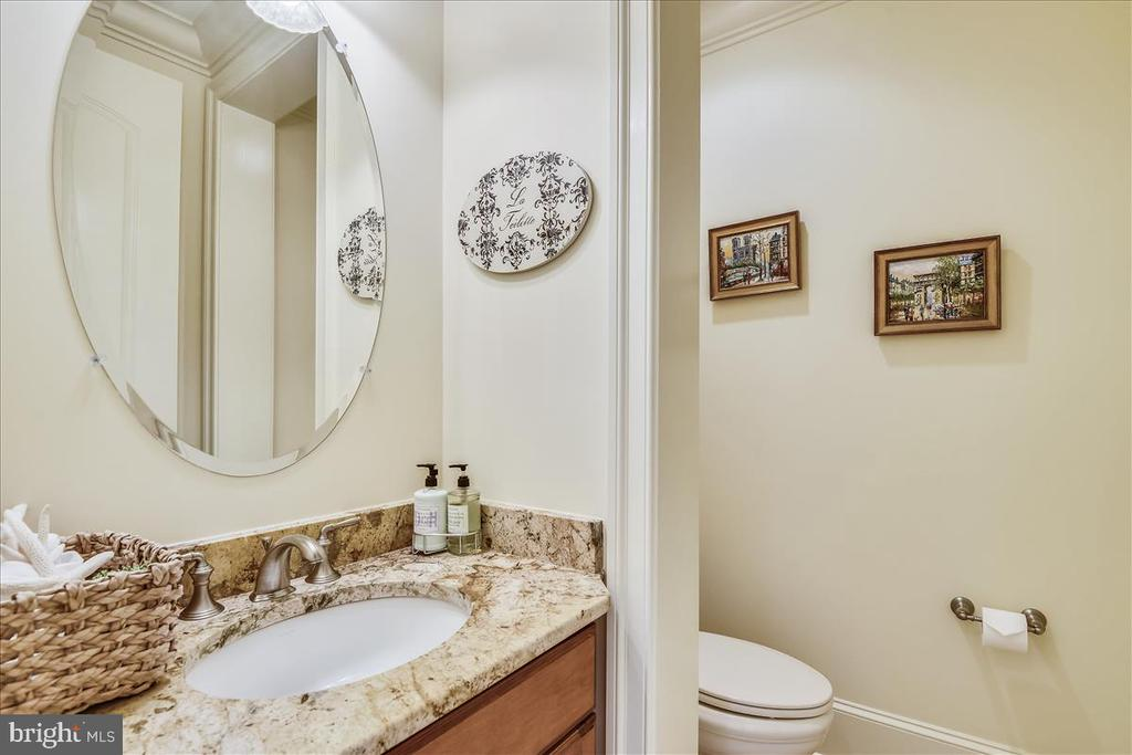 One of two main level powder rooms - 12056 OPEN RUN RD, ELLICOTT CITY
