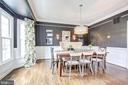 Formal dining room, well lit - 47771 BRAWNER PL, POTOMAC FALLS