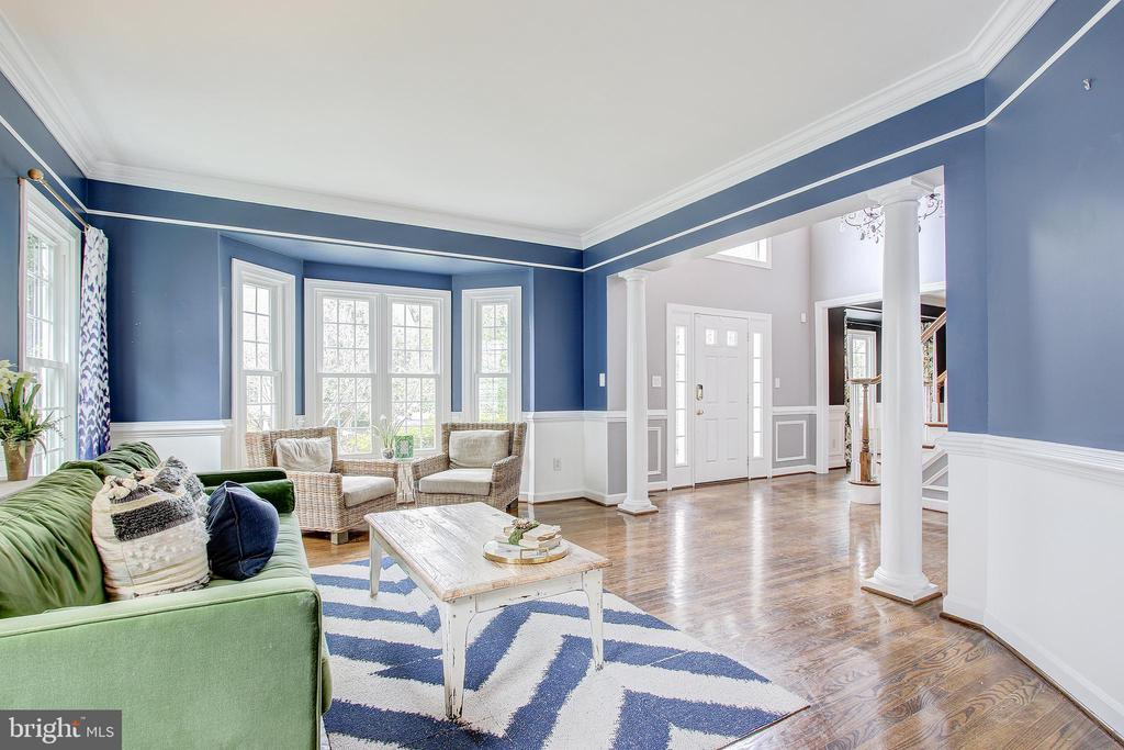 Formal living room - 47771 BRAWNER PL, POTOMAC FALLS