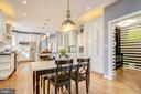 Table space in kitchen - 47771 BRAWNER PL, POTOMAC FALLS