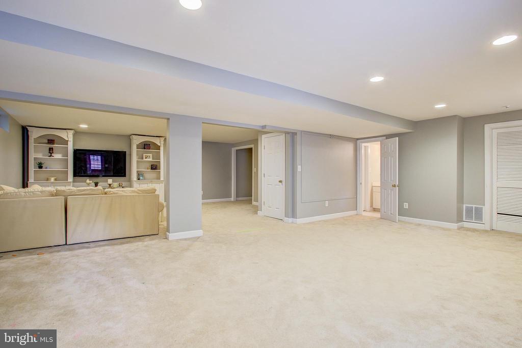 Great basement for everyone! - 47771 BRAWNER PL, POTOMAC FALLS