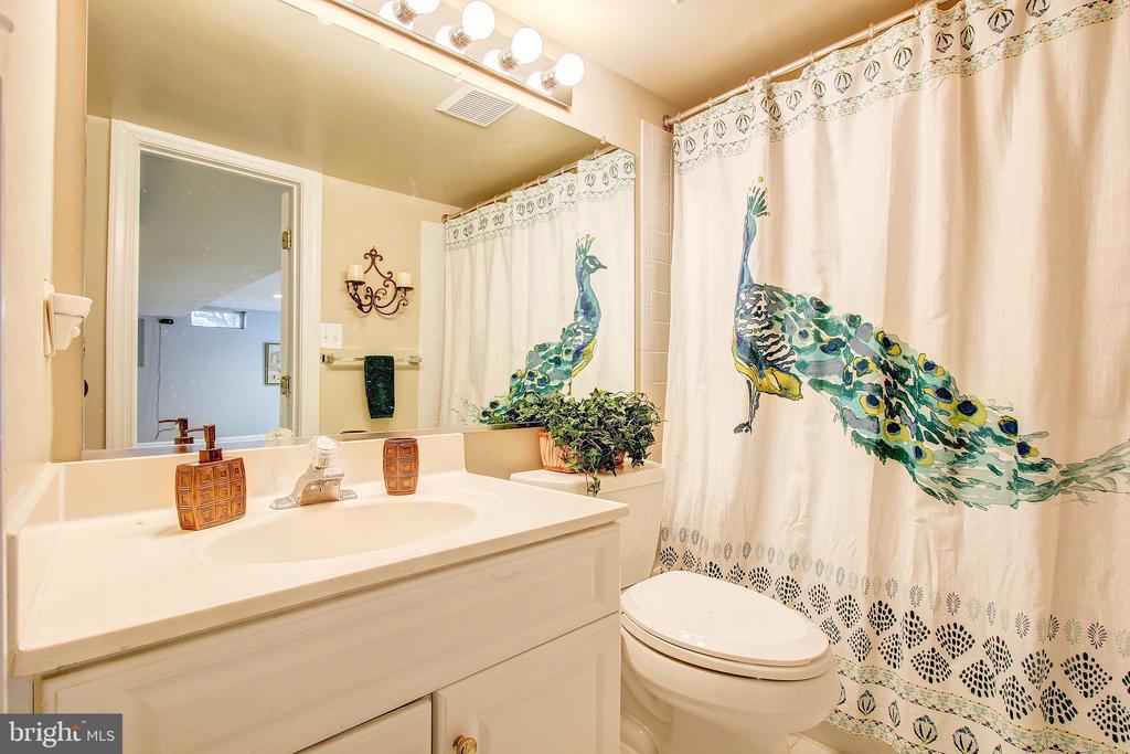 Full bath in basement - 47771 BRAWNER PL, POTOMAC FALLS