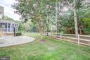 Fenced in backyard - 47771 BRAWNER PL, POTOMAC FALLS