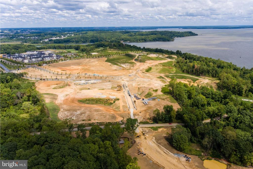 The future town center and VRE Site - 17985 WOODS VIEW DR, DUMFRIES