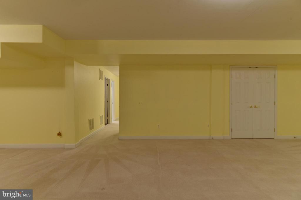 Huge recreation room! - 7428 SPRING SUMMIT RD, SPRINGFIELD