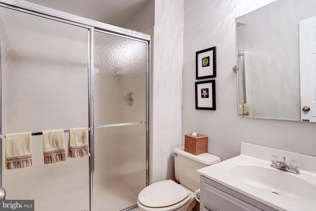 Lower Level Full Bath - 3624 WINFIELD LN NW, WASHINGTON