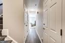 Lower Level Hallway - 3624 WINFIELD LN NW, WASHINGTON