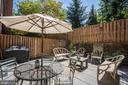 Lovely, private backyard - 3624 WINFIELD LN NW, WASHINGTON