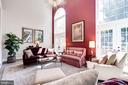 Living Room - 3624 WINFIELD LN NW, WASHINGTON