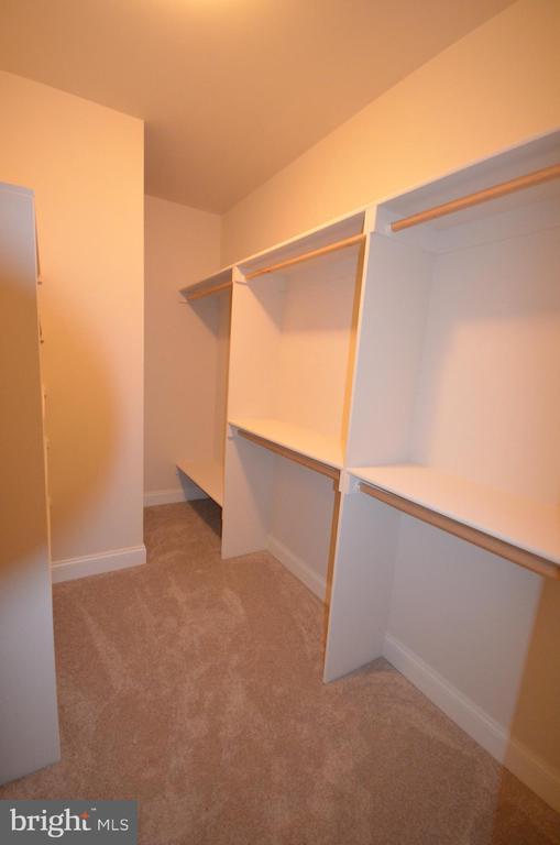 Master Bedroom Closet - 5903 COPPER MILL DRIVE COPPER MILL DRIVE, FREDERICKSBURG