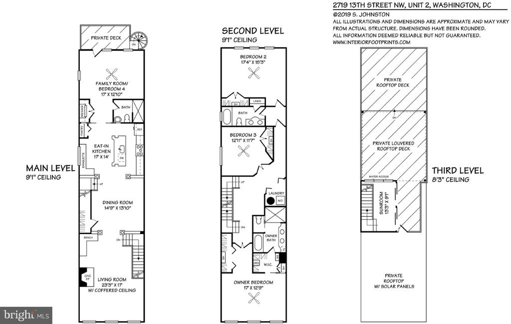Floor Plan - 2719 13TH ST NW #2, WASHINGTON