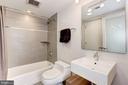Kohler + Hansgrohe bath fixtures. - 1466 HARVARD ST NW #2B, WASHINGTON
