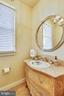 Powder room with furniture-grade vanity - 121 TREEHAVEN ST, GAITHERSBURG