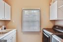 Large laundry room with double-sink - 121 TREEHAVEN ST, GAITHERSBURG