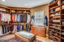 Custom room-sized closet - 121 TREEHAVEN ST, GAITHERSBURG