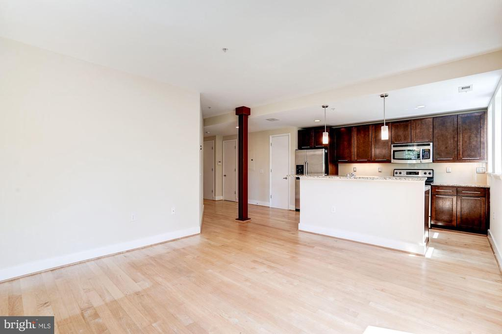 Plenty of room for separate dining table. - 2201 2ND ST NW #21, WASHINGTON