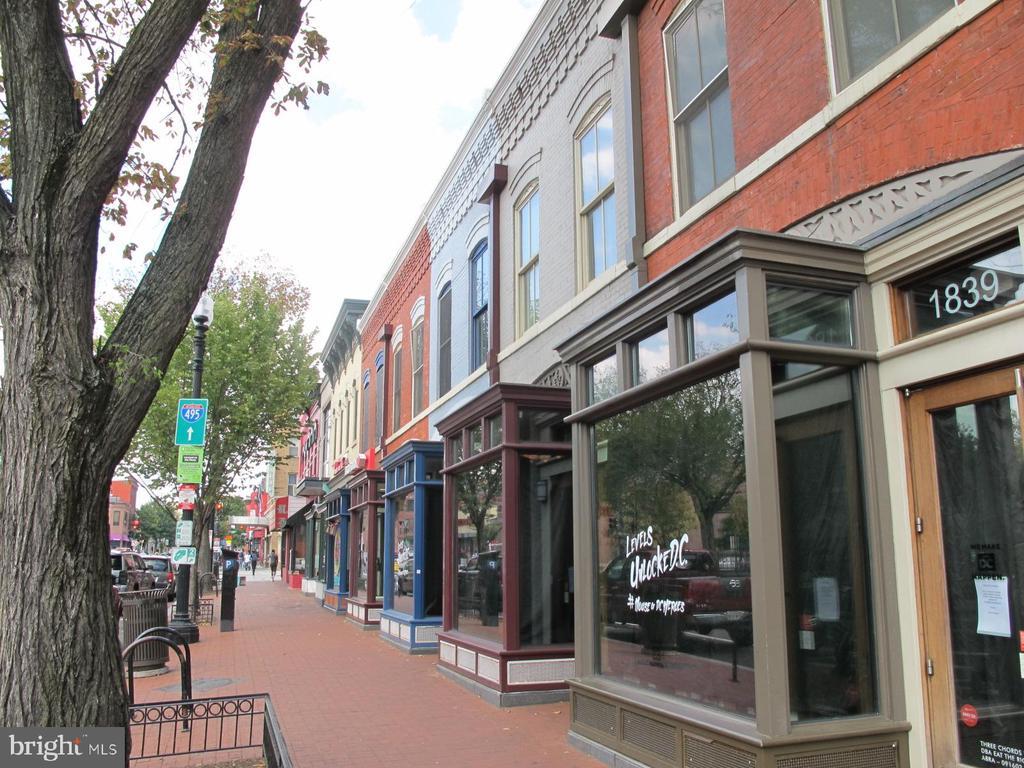 Shaw Restaurants and shops: 10 minute walk. - 2201 2ND ST NW #21, WASHINGTON