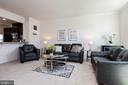 Large, open living room - 5925 SHEPHERD LN, FREDERICK